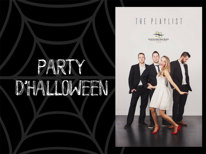 THE PLAYLIST - PARTY D'HALLOWEEN